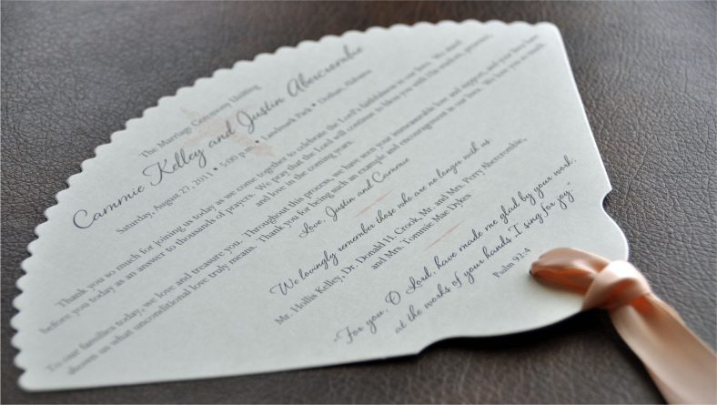 Wedding invitations made out of passion